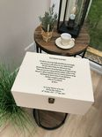 VERY LARGE Personalised SON Keepsake Bereavement Memory Box ANY NAME - 333332667896